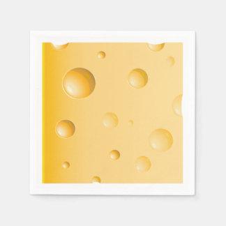 Gruyere Cheese Paper Napkins