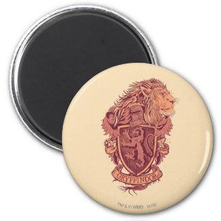 GRYFFINDOR™ Crest 6 Cm Round Magnet
