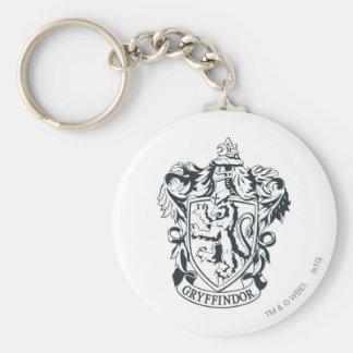 Gryffindor Crest Basic Round Button Key Ring
