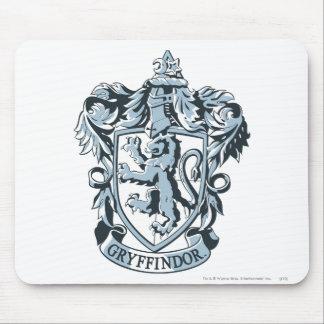 Gryffindor crest blue mouse pad