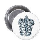 Gryffindor crest blue pinback button