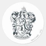 Gryffindor Crest Classic Round Sticker