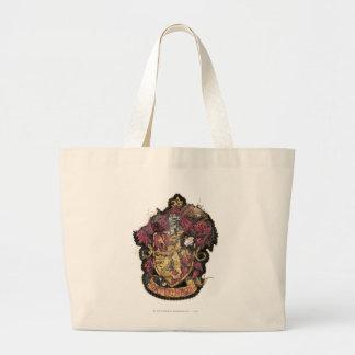Gryffindor Crest - Destroyed Jumbo Tote Bag
