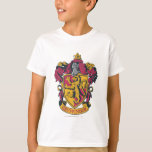 Gryffindor Crest Gold and Red T Shirts