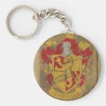 Gryffindor Crest HPE6 Basic Round Button Key Ring