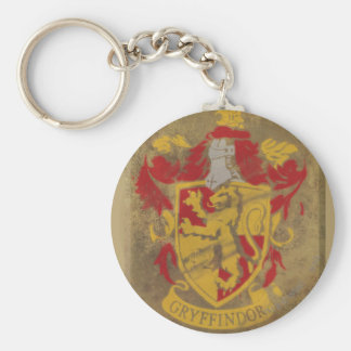 Gryffindor Crest HPE6 Basic Round Button Key Ring