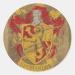 Gryffindor Crest HPE6 Classic Round Sticker
