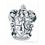 Gryffindor Crest Postcard