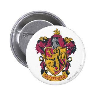 Gryffindor crest red and gold 6 cm round badge