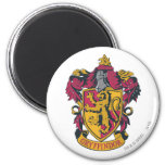 Gryffindor crest red and gold 6 cm round magnet