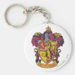 Gryffindor crest red and gold keychain