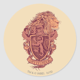 GRYFFINDOR™ Crest Round Sticker