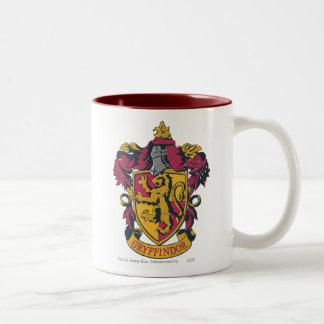 Gryffindor Crest Two-Tone Coffee Mug
