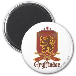 Gryffindor Quidditch Badge 6 Cm Round Magnet