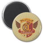 Gryffindor Quidditch Captain Emblem 6 Cm Round Magnet