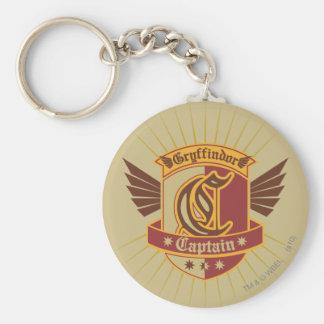 Gryffindor QUIDDITCH™ Captain Emblem Basic Round Button Key Ring