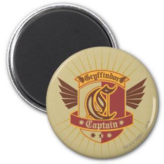 Gryffindor Quidditch Captain Emblem Fridge Magnets