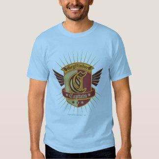 Gryffindor Quidditch Captain Emblem Tee Shirts