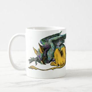 Gryphon  - Blue: Coffee Mug