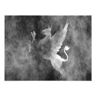 gryphon photographic print