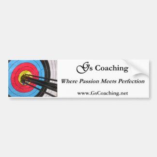 G's Coaching Bumper Sticker