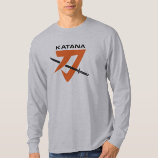 GS Katana Long Sleeve Vintage Motorcycle Shirt