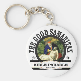 gs painted bible parable key ring