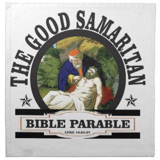 gs painted bible parable napkin