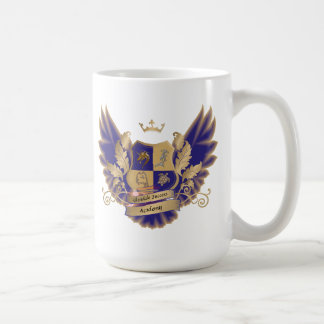 GSAs House Crest with Wings Blue Gold Owl Mug