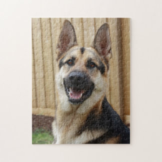 GSD Head Shot Jigsaw Puzzle