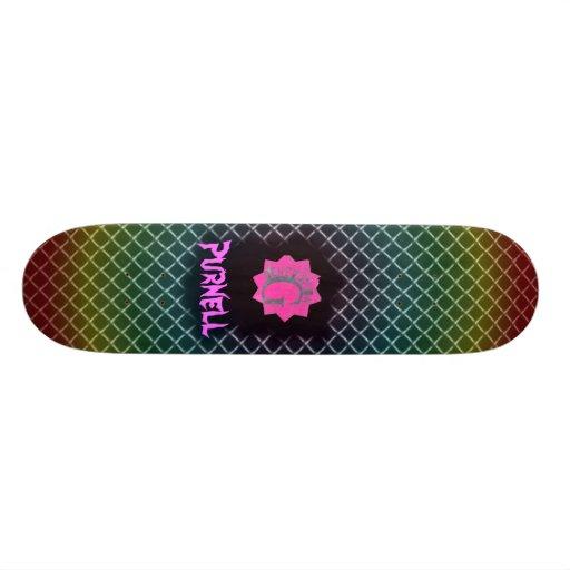 gskateboard-pink, Purnell Skate Boards