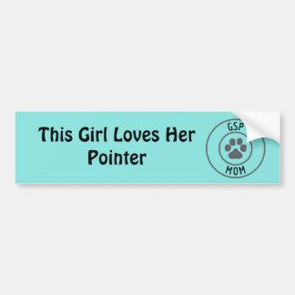 GSP Mom bumper sticker