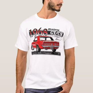 GTCS 1968 Mustang - double sided T-Shirt