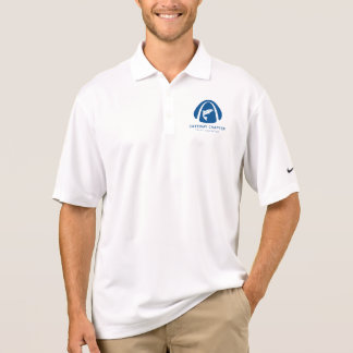 GTU Nike Dri-Fit Polo Shirt (Blue GTU Logo)