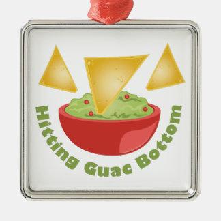 Guac Botom Metal Ornament