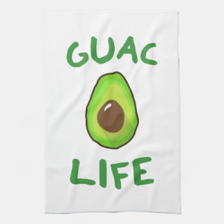 GUAC (Guacamole) LIFE - Green Kitchen Towel