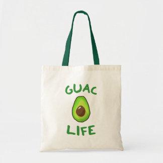 GUAC (Guacamole) LIFE - Green Tote Bag