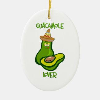 Guacamole Lover Ceramic Ornament