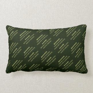 Guacamole Testicles Throw Pillows