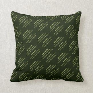 Guacamole Testicles Cushions