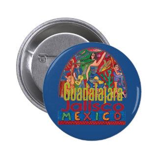 GUADALAJARA Mexico 6 Cm Round Badge