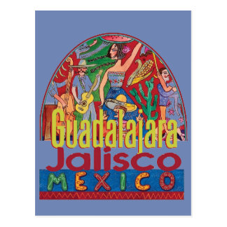 GUADALAJARA Mexico Postcard