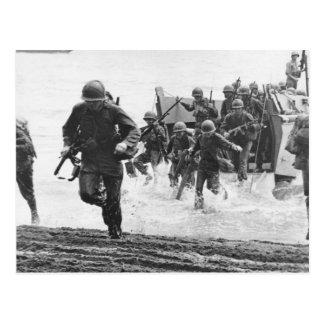 Guadalcanal Landing Postcard