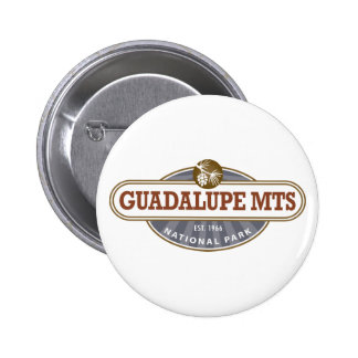 Guadalupe Mountains National Park 6 Cm Round Badge