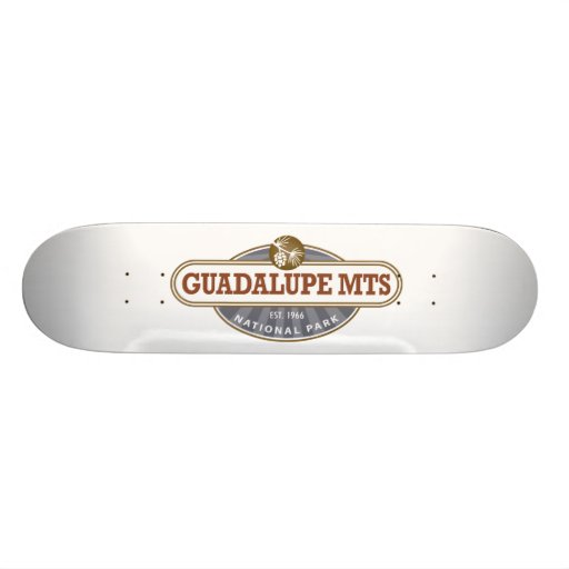 Guadalupe Mountains National Park Skate Decks
