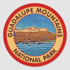 Guadalupe Mountains National Park, Texas Classic Round Sticker
