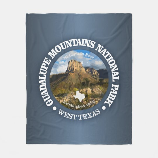 Guadalupe Mountains NP Fleece Blanket