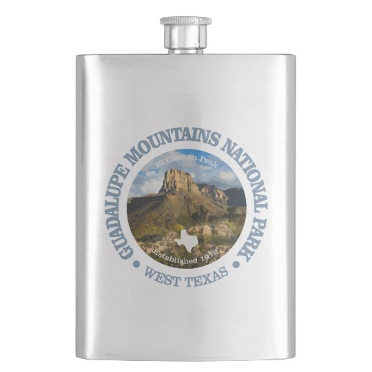 Guadalupe Mountains NP Hip Flask