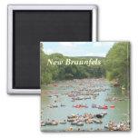 Guadalupe River  New Braunfels kitchen magnet