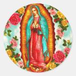 Guadalupe Round Sticker